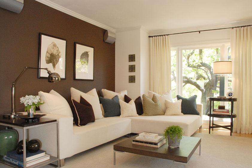 Дизайн квартиры покраска стен