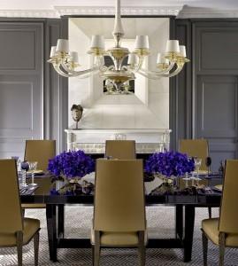 Dining room wainscot