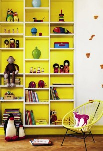 kid's shelves